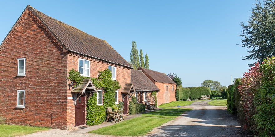Holiday cottages at Hipsley
